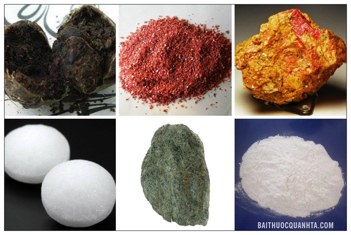 Một số vị thuốc trong bài hồng linh đan